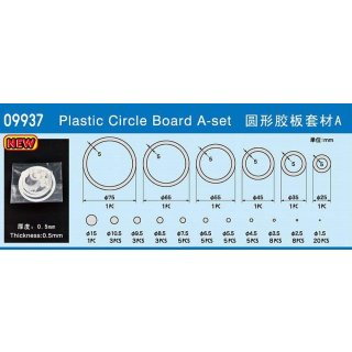 Plastic Circle Board A-set