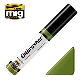Oilbrusher Olive Green, (10ml)