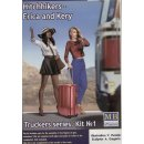 1:24 Hitchhikers-Erica and Kery,Truckers seri Kit No.1