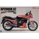 1:12 Kawasaki GPZ900R Ninja A7 1990