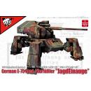 """1:72 German E-75 Ausf.Vierfüßler """"JagdEinauge"""""""