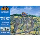 1:72 American Civil War Confederate Infantry Set