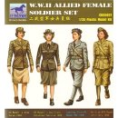 1:35 Allied Female Soldier Set  WW2