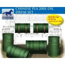 1:35 Chinese PLA 200L Oil Drum Set