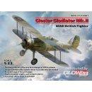 1:32 Gloster Gladiator Mk.II, WWII British Fighter