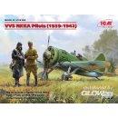 1:32 VVS RKKA Pilots(1939-1942p)(3 Figures)