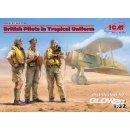 1:32 British Pilots in Tropical Uniform(1939-1943)(3 figures)