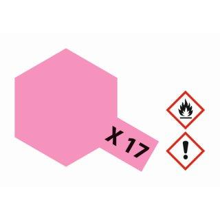 X-17 Rosarot glänzend 23ml