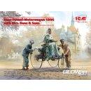 1:24 Benz Patent-Motorwagen 1886 with Mrs. Benz & Sons