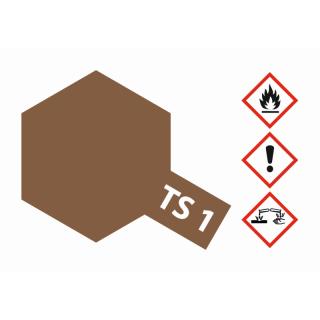 TS-1 Rot-Braun matt 100ml