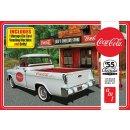 1:25 Chevy Cameo 1955 Pick up Coca Cola