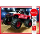 1:25 Chevy Silverado Monster Truck 1988 Coca Cola