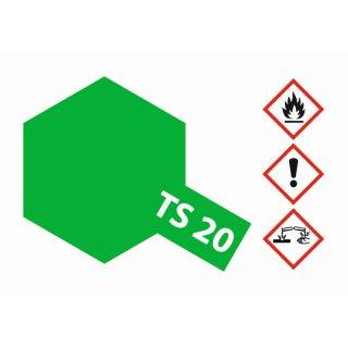 TS-20 Metallic Grün glänzend 100ml
