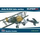 1:144 Avia B.534 late Series (SUPER44) (4 Stück)