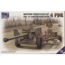 1:35 British Ordnance QF 6 PDR Mk.IV Anti Tank Gun