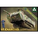 1:35 St.Chamond late Type French Heavy Tank