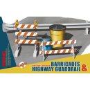 1:35 Barricades Highway Guardrail