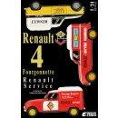 "1:24 Renault 4 Fourgonnette ""Renault Service"""