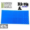 Silkon Texturplatten - NIETEN