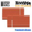 Silikon Texturplatten - Dach 1/35 (54mm)