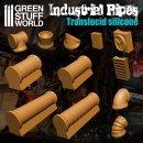 Silikon Texturplatten - Industrierohre