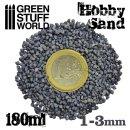 Grober Modellbau-Sand 180ml - Grau