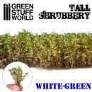 Hohes Gebüsch - Weß Grün