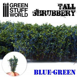 Hohes Gebüsch - Blau Grün