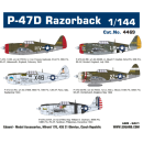 1:144 P-47D Razorback