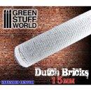 Strukturwalze - Holländische Ziegel 15mm