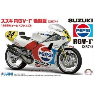 1:12 Suzuki RGV-t (XR74) 1988 n°34 PEPSI