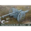 1:35 75mm French Field Gun Mle 1897 WW1