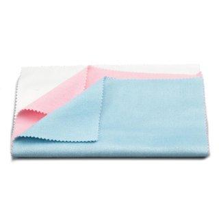 Tamiya Poliertuch-Set rosa/blau/weiss